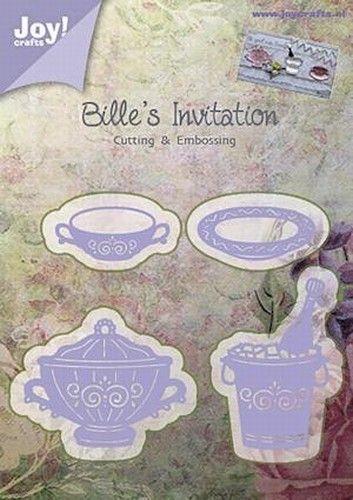 Joy! Snij- embosmal Billie's Invitation 6002/0373 (Locatie: M007)