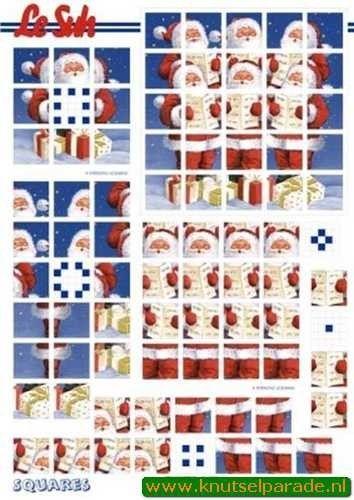 Le Suh squares kerst 630198 (Locatie: 6521)