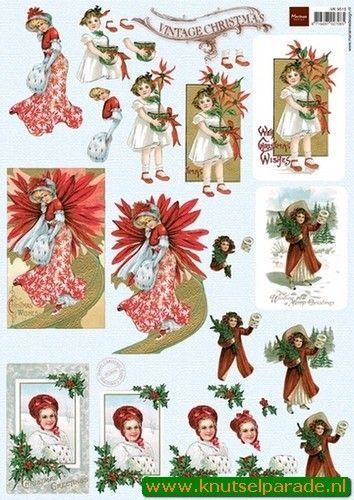 Marianne Design knipvel kerst VK9515 (Locatie: 4233)