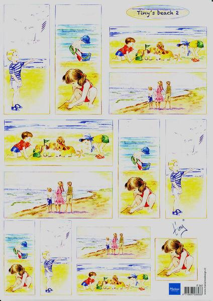Marianne Design knipvel Tiny's beach 2 (Locatie: 6754)