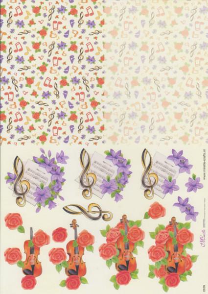 Mireille knipvel bloemen nr. E639 (Locatie: 1408)