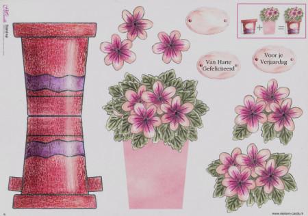Mireille knipvel bloemenpotje 6 (Locatie: 5016)
