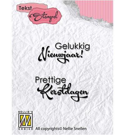 Nellie Snellen Clear stamp Kerstmis DTCS017 (Locatie: NN236)