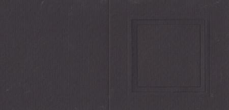 Romak kaart vierkant zwart nr. K210427 (Locatie: HH068)