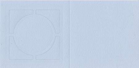 Romak vierkantekaart licht blauw K2-099-28 (Locatie: MM008 )