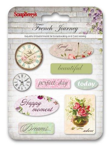 Scrapberry's stickers French Journey (Locatie: NN246)