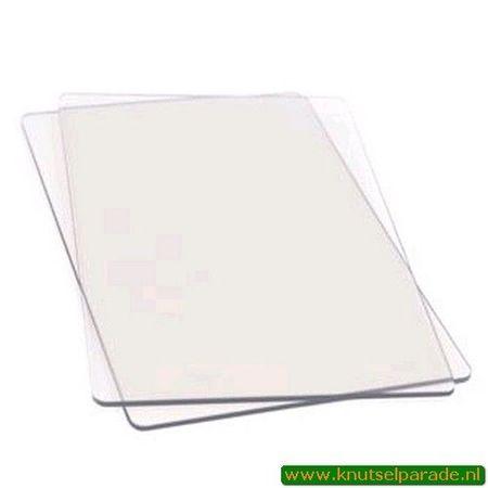 Sizzix Cutting pad Standard 1 pair 655093 (Locatie: K1)