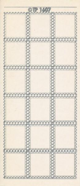 Stickervel transparant zilver TP1607 (Locatie: u236)