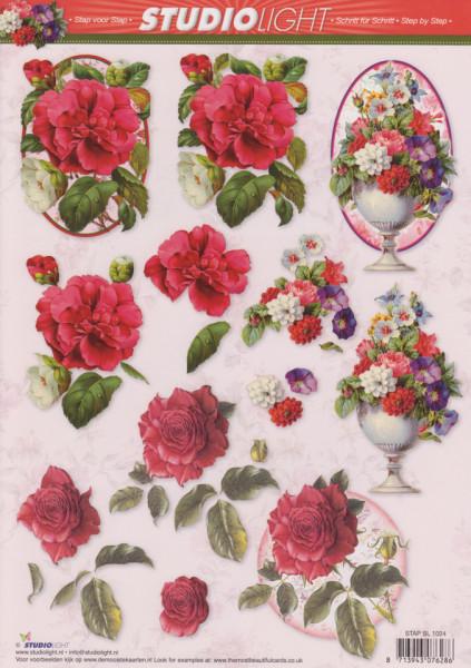 Studio Light knipvel bloemen STAPSL1024 (Locatie: 2555)