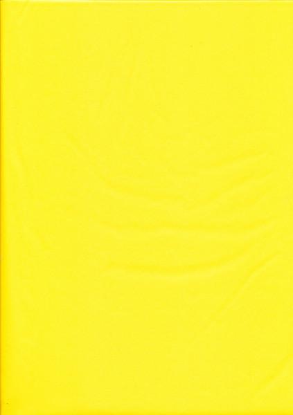 Tissuepapier donkergeel 50 x 70 cm per vel
