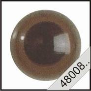 Veiligheidsogen 6 mm bruin 2 stuks 4800806