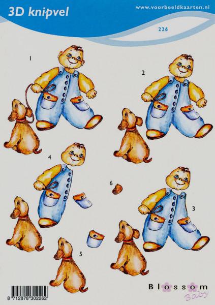 Voorbeeldkaarten knipvel A5 jongen 226 (Locatie: 2822)