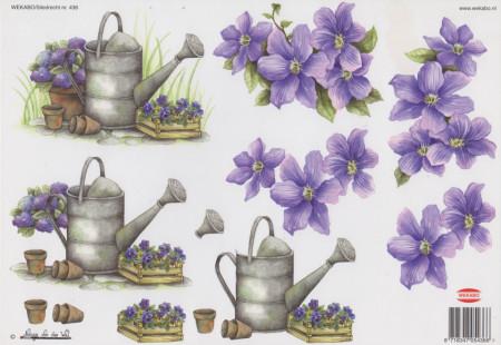 Wekabo knipvel bloemen 436 (Locatie: 2524)
