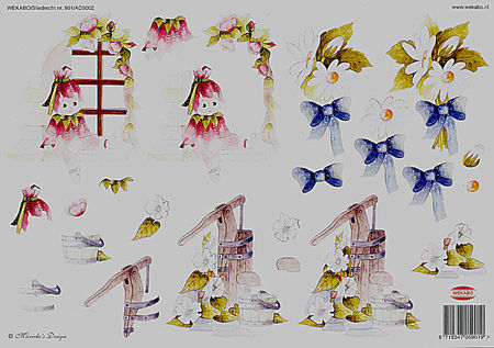 Wekabo knipvel bloemen 901 (Locatie: 703)