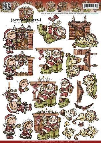 Yvonne Creations knipvel Warm Christmas CD10555 (Locatie: 1503)