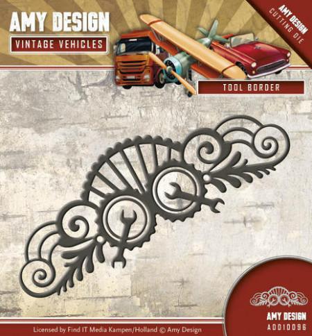 Amy Design snijmal Tool Border ADD10096 (Locatie: i495)