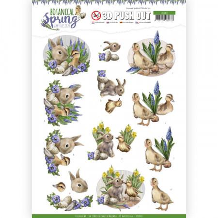 Amy Design stansvel Botanical Spring SB10437 (Locatie: 4525)
