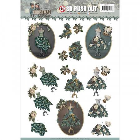 Amy Design stansvel kerstmisjurk SB10293 (Locatie: 5629)