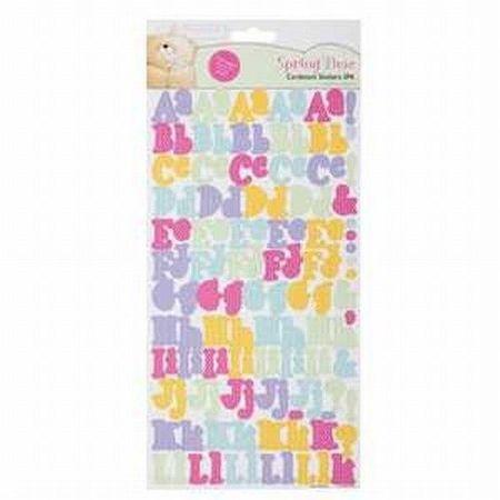 Cardstock Stickers alfabet Forever Friends FFS803104 (Locatie: 1RA6 )