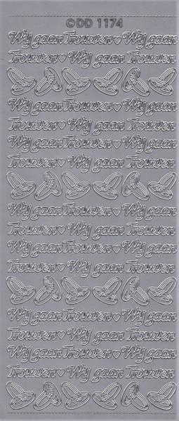 Doodey stickervel trouwen DD1174 (Locatie: t082)