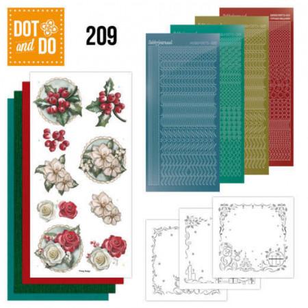 Dot and Do 209 Amy Design - Winterflowers DODO209