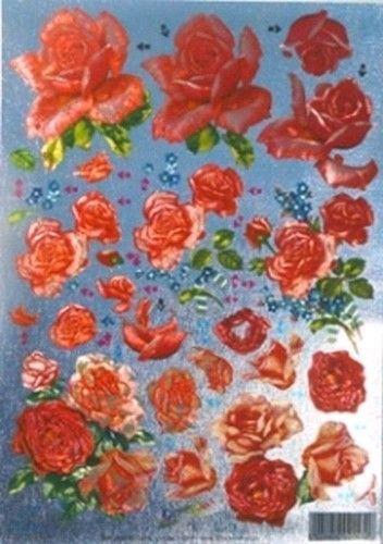 Dufex stansvel metallic bloemen 11179844 (Locatie: 4210)