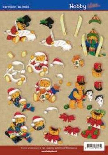 Hobby Idee knipvel kerst HI 0021 (Locatie: 209)