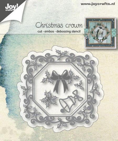 Joy! Craft snij- en embosmal Christmas Crown 6002/1340 (Locatie: V007)