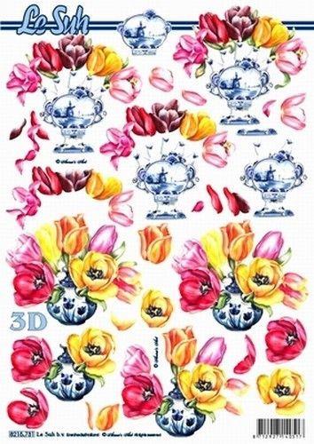 Le Suh knipvel bloemen/tulpen 8215731 (Locatie: 4435)