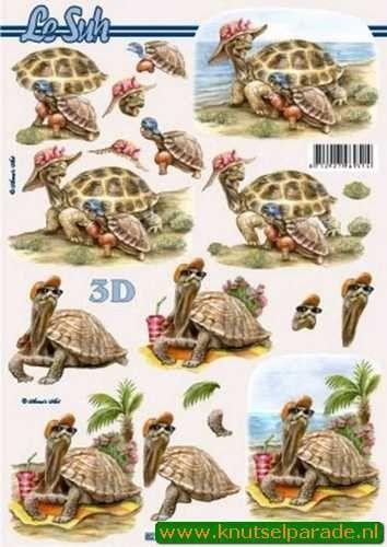 Le Suh knipvel dieren / vakantie 8215375 (Locatie: 2680)