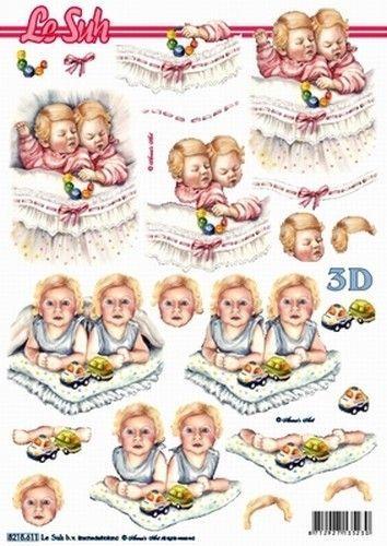 Le Suh knipvel geboorte tweeling 8215611 (Locatie: 5805)