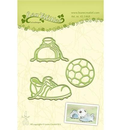 Leane Creatief snij- en embosmal Football 45.1468 (Locatie: M86)