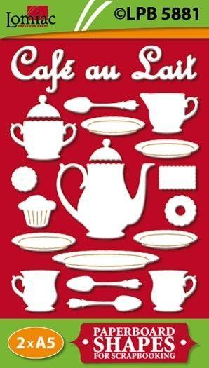 Lomiac kartonnen Koffieservies LPB5881 (Locatie: 4831)