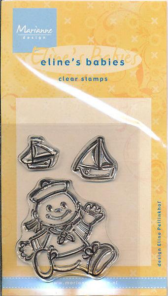 Marianne Design clear stamp Eline's Babies EC0084 (Locatie: S088)