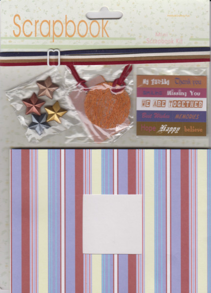 Mini Scrapbook Kit - Hobby & Crafting Fun 12110-1006 (Locatie: 1212)