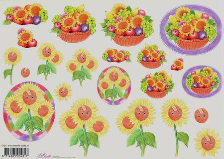 Mireille knipvel bloemen E721 (Locatie: 2384)