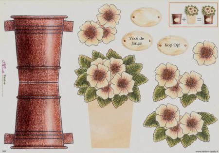 Mireille knipvel bloemenpotje 004 (Locatie: 5016)