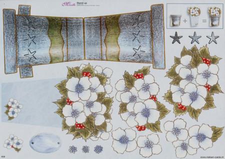 Mireille knipvel bloemenpotje X09 (Locatie: 2219)
