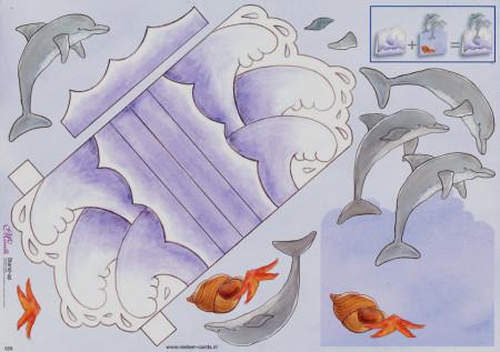 Mireille knipvel dolfijn 028 (Locatie: 4717)