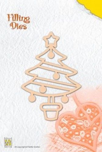 Nellie's Filling Dies christmas tree QD007 (Locatie: G309)