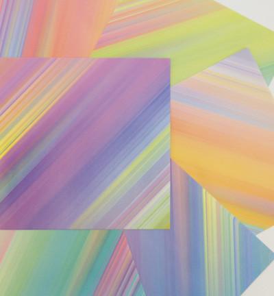 Origami Papier, 36 vellen, 6 kleuren, 150x150mm