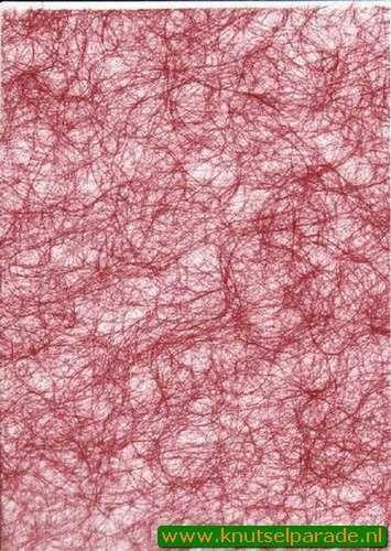 Spinnenweb papier rood A4 29995/04 (Locatie: 6335)