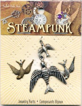 Steampunk bedels vogels STEAM010