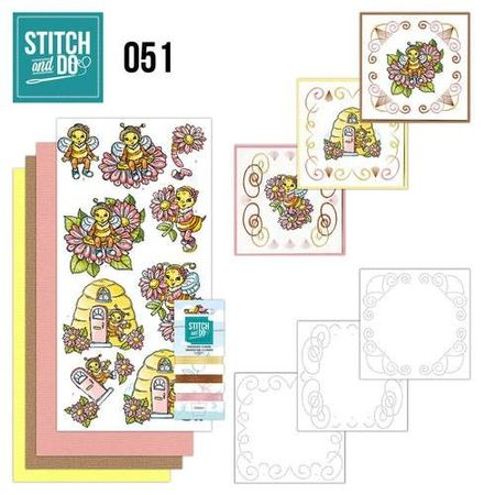 Stitch and Do Bijtjes STDO051 (Locatie: 1RA5 )