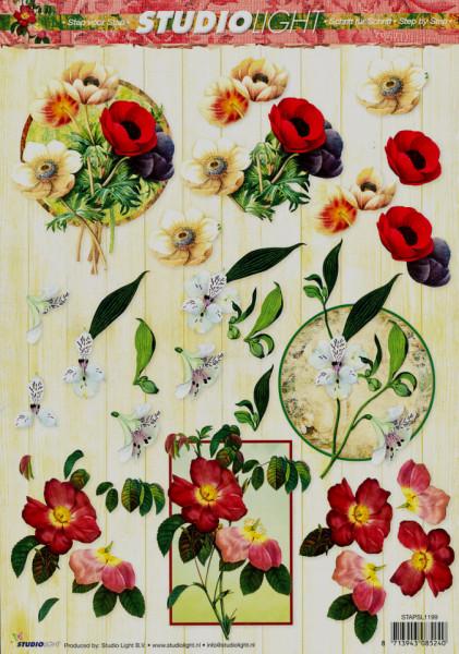 Studio Light knipvel bloemen STAPSL1199 (Locatie: 5713)