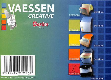 Vaessen Creative Opbergmap 38.5 X 37.5 cm in zwart 37050/024 (Locatie: 1RA1)
