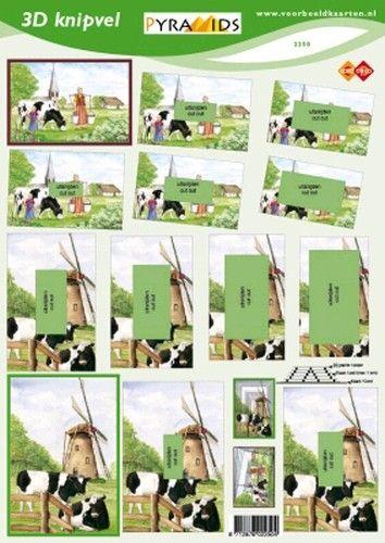 Voorbeeldkaarten knipvel dieren 2250 (Locatie: 2374)