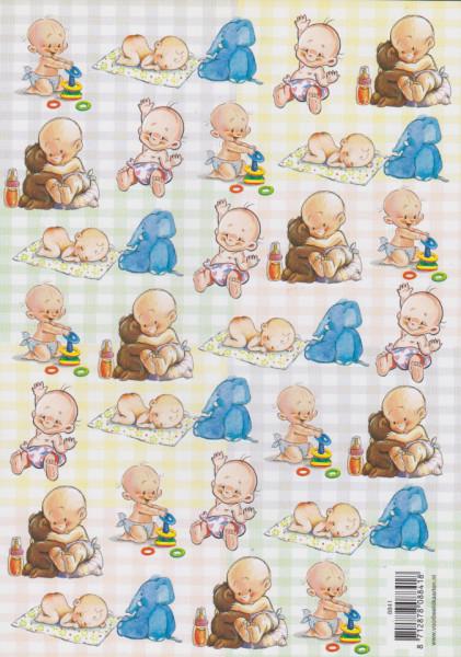 Voorbeeldkaarten knipvel geboorte 8841 (Locatie: 2426)