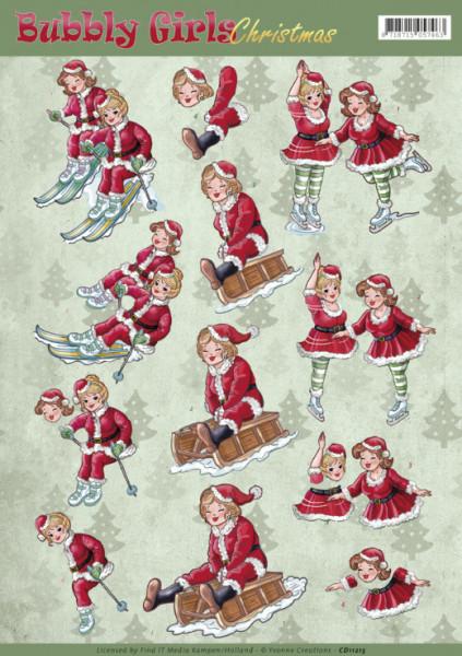 Yvonne Creations knipvel Bubbly girls CD11215 (Locatie: 4516)
