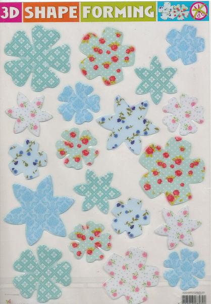 3D Shape Forming bloemen 3Dshapeforms69 (Locatie: 6809)